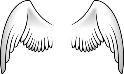 Ala clipart svg transparent Wings clip art arts de clip, clipart lliure - ClipartLogo.com svg transparent