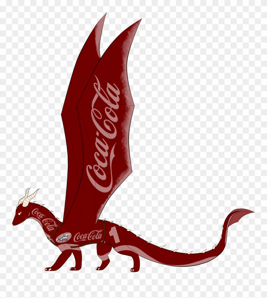 Ala clipart vector black and white library Coca Cola Ala De Plata - Coca Cola Clipart (#856382) - PinClipart vector black and white library
