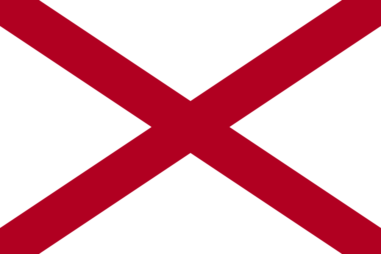 Alabama a and m clipart graphic freeuse library File:Flag of Alabama.svg - Wikipedia graphic freeuse library