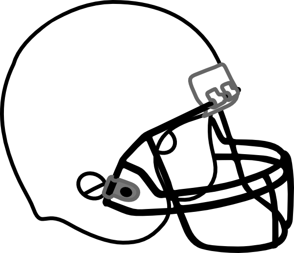 Clipart football helmet image download 28+ Collection of Football Clipart Black | High quality, free ... image download