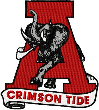 Alabama football logo clipart picture royalty free download University of Alabama Clip Art | Alabama University Crimson Tide ... picture royalty free download