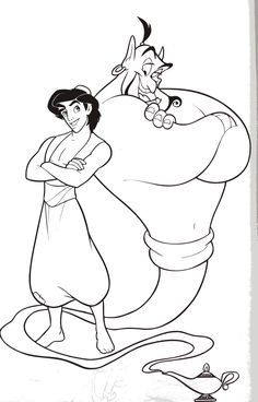 Aladdin black and white clipart graphic freeuse 71 Best MT Ideas Aladdin images in 2019   Aladdin costume, Aladdin ... graphic freeuse