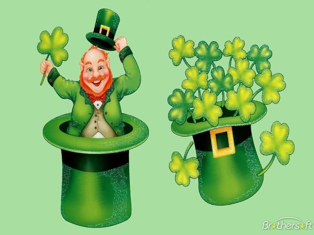 Alaguhing patrick clipart svg free Laughing Leprechaun Desktop Background | St. Patrick\'s Day Wallpaper ... svg free