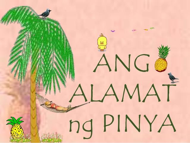 Alamat ng pinya clipart banner black and white Alamat ng Pinya ppt banner black and white