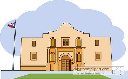 Alamo clipart png free stock Alamo Cliparts 5 - 500 X 309 - Making-The-Web.com png free stock
