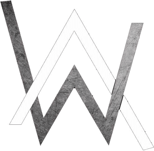 Alan walker logo clipart