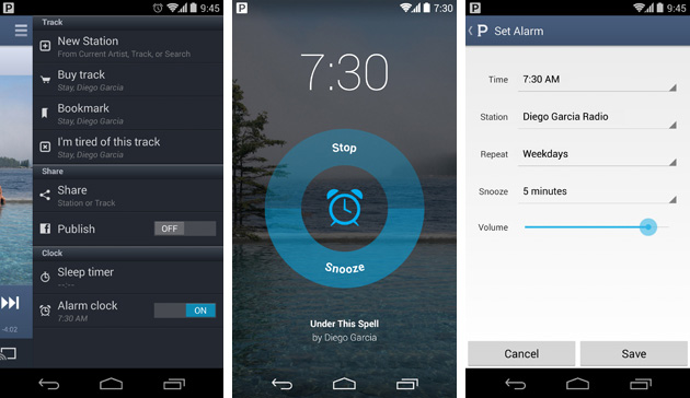 Pandora's Android app gets an alarm clock function, right on time vector transparent download
