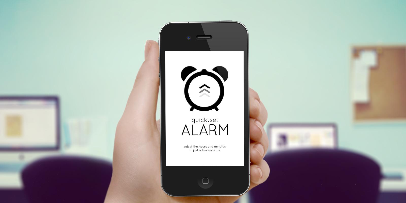 Alarm app picture Quick Set Alarm Clock - Mobile App | Inspireo Media picture