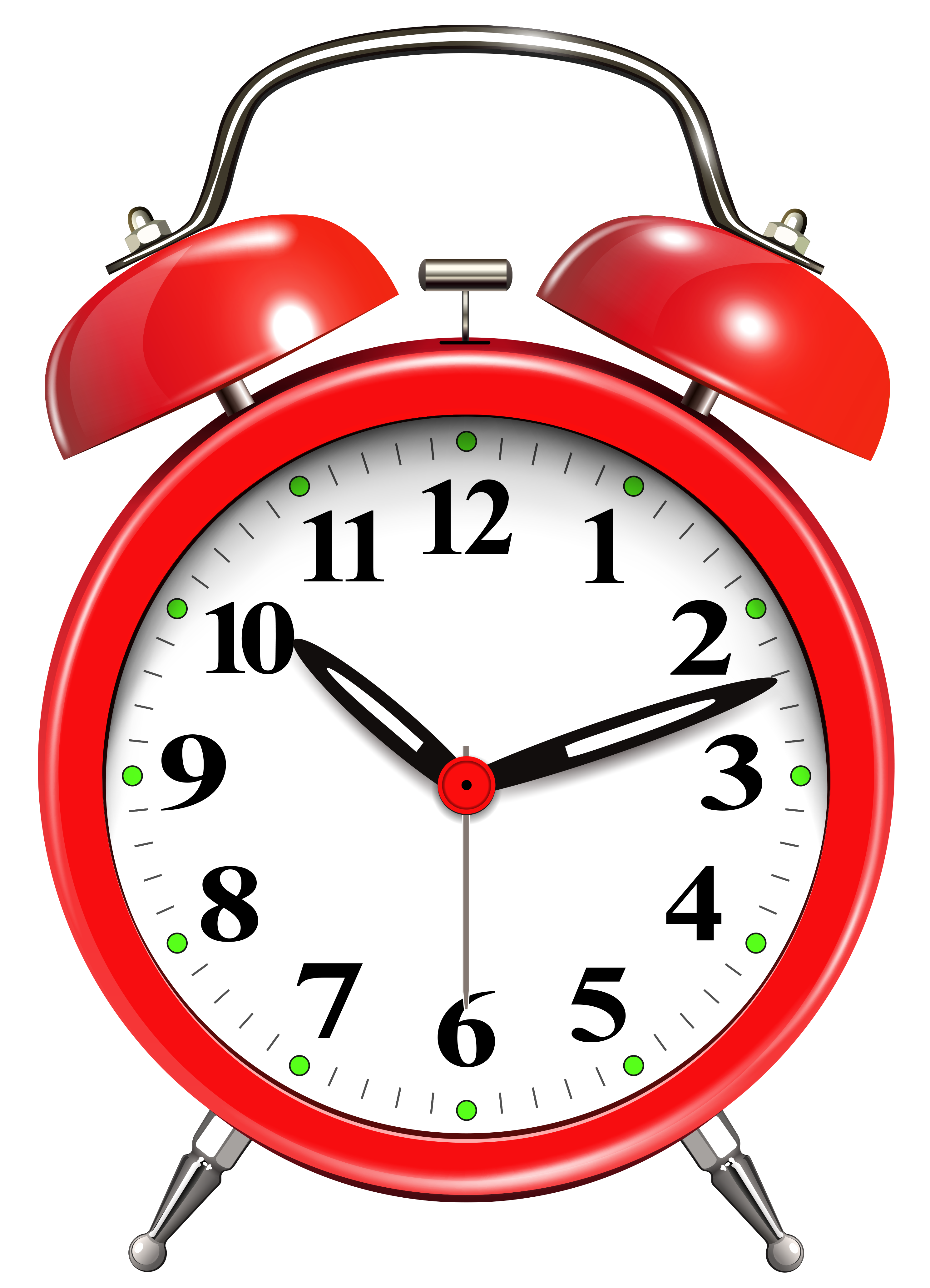 Alarm clock clipart 7 vector freeuse library Alarm Clock Red PNG Clip Art - Best WEB Clipart vector freeuse library