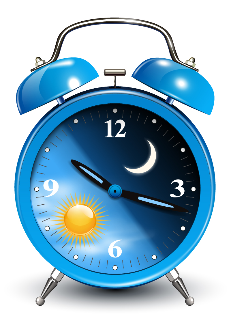 Clock design clipart banner transparent library Blue Alarm Clock Design Vector | Free Vector Graphic Download - Clip ... banner transparent library