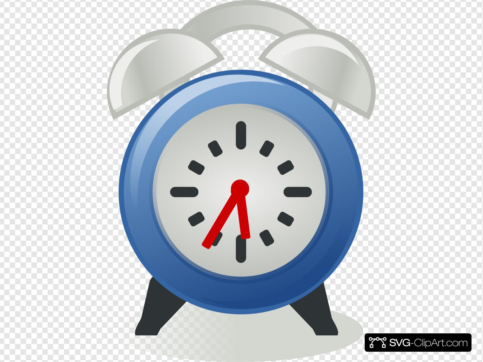 Alarm clock clipart blue banner free stock Alarm Clock Clip art, Icon and SVG - SVG Clipart banner free stock