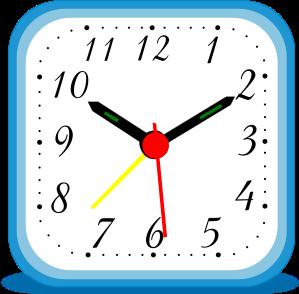 Alarm clock clipart blue banner royalty free This blue alarm clock clip art | Clipart Panda - Free Clipart Images banner royalty free