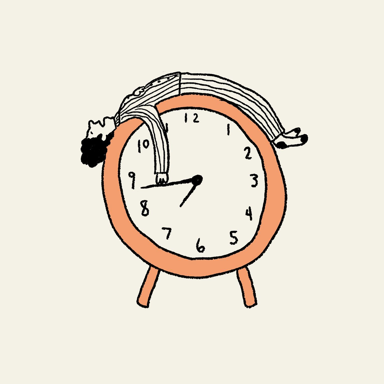 Alarm clock snooze clipart vector free How Do You Snooze? What Your Alarm Clock Style Says About You ... vector free