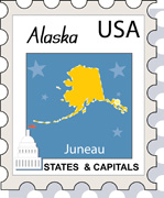 Fifty US States: Alaska Clipart - Illustrations - Alaska and Graphics clipart library stock