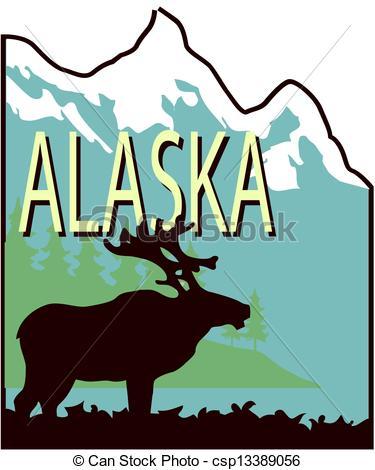 Alaska clipart vector free stock Alaskan Clipart | Clipart Panda - Free Clipart Images vector free stock