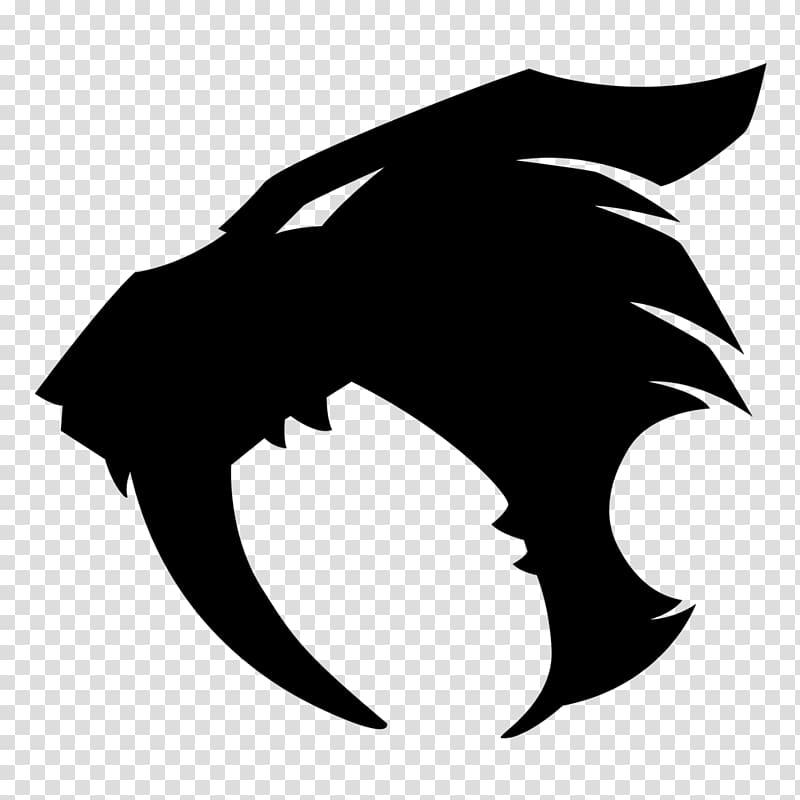 Alaska clipart transparent background graphic freeuse Black animal head illustration, Tiger Sabretooth Felidae Saber ... graphic freeuse