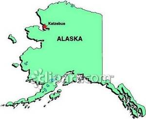 Alaska map clip art transparent Alaska Map Clipart - Clipart Kid transparent