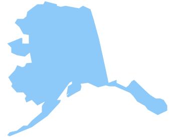 Alaska map clip art clipart freeuse download Map of western us and alaska clipart - ClipartFest clipart freeuse download