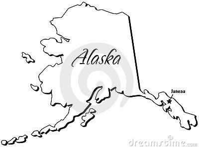 Alaska map clipart transparent download Alaska State Clipart - Clipart Kid transparent download