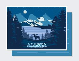 Alaska scenery clipart graphic free Alaska Free Vector Art - (155 Free Downloads) graphic free