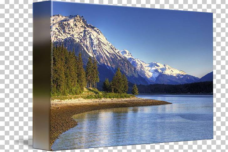 Alaska scenery clipart jpg black and white library Haines Takshanuk Mountains Chilkat River Mount Ripinski Alaska Range ... jpg black and white library