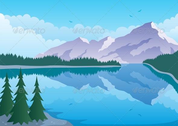 Alaska scenery clipart image freeuse stock 25+ Alaska Landscape Cartoon Pictures and Ideas on Pro Landscape image freeuse stock