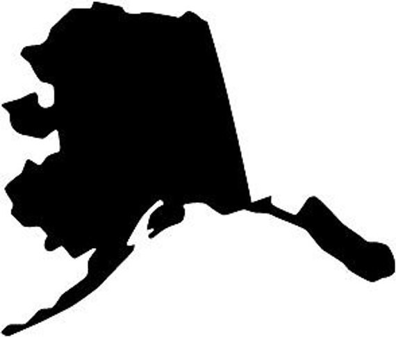 Alaska silhouette clipart clipart royalty free download Archive with tag: google map midwest usa   Maps USA Midwest Map Usa. clipart royalty free download