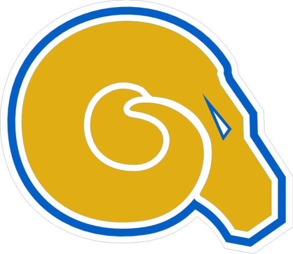 Albany state logo clipart graphic royalty free stock Laser Magic - ALBANY STATE UNIVERSITY - MAGNET B-RAM HEAD - 6.3