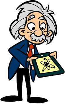 Albert einstein science clipart jpg black and white stock Einstein Clip Art   Middle School/Junior High Teaching Tools ... jpg black and white stock