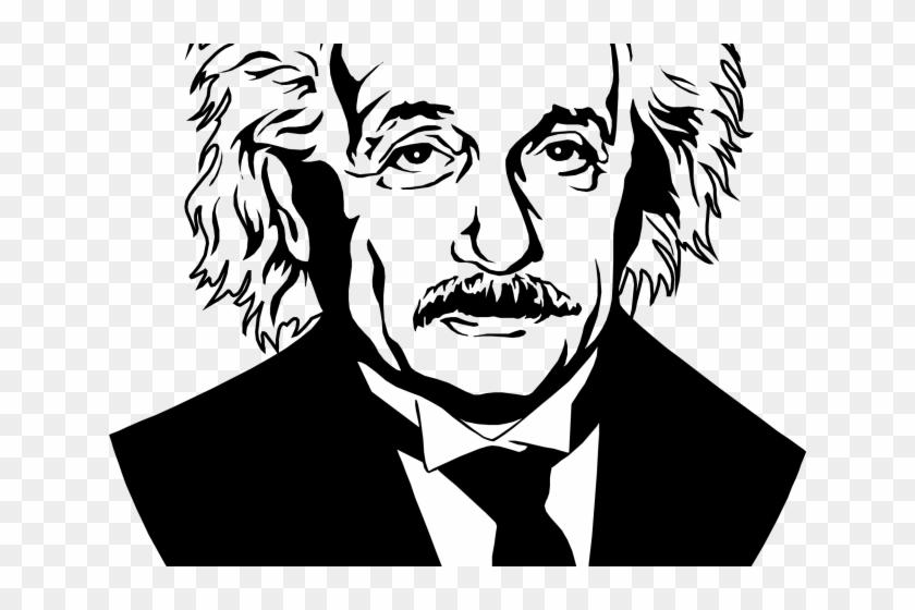 Albert einstein clipart tree picture black and white Albert Einstein Clipart, HD Png Download - 640x480(#1366005) - PngFind picture black and white