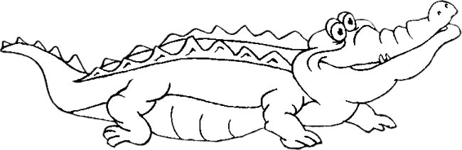 Gator clipart black and white cute clipart freeuse Free Alligator Gifs - Animated Alligators - Clipart clipart freeuse