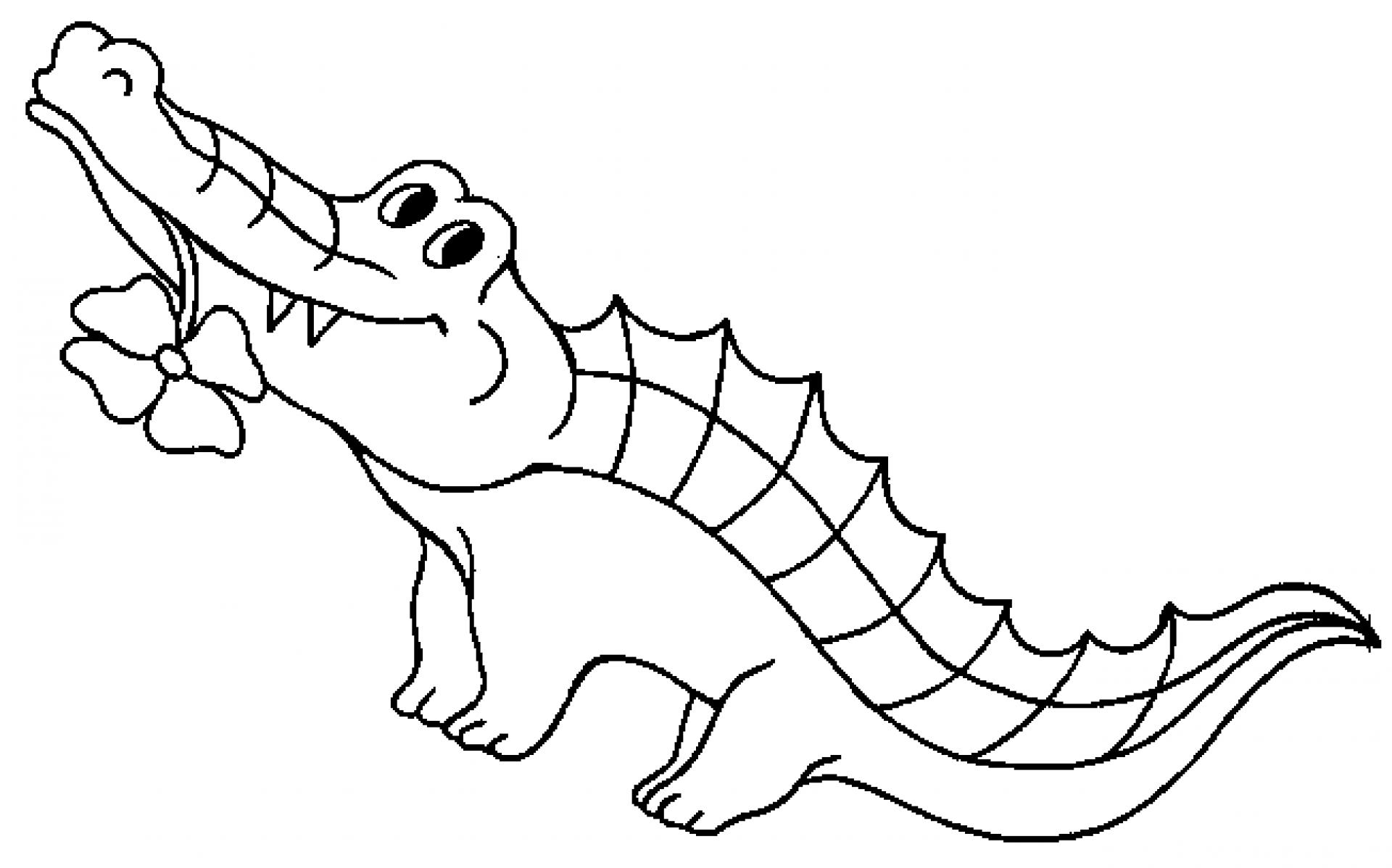 Albino aligator clipart black and white download Alligator black and white alligator black and white clipart 4 ... black and white download