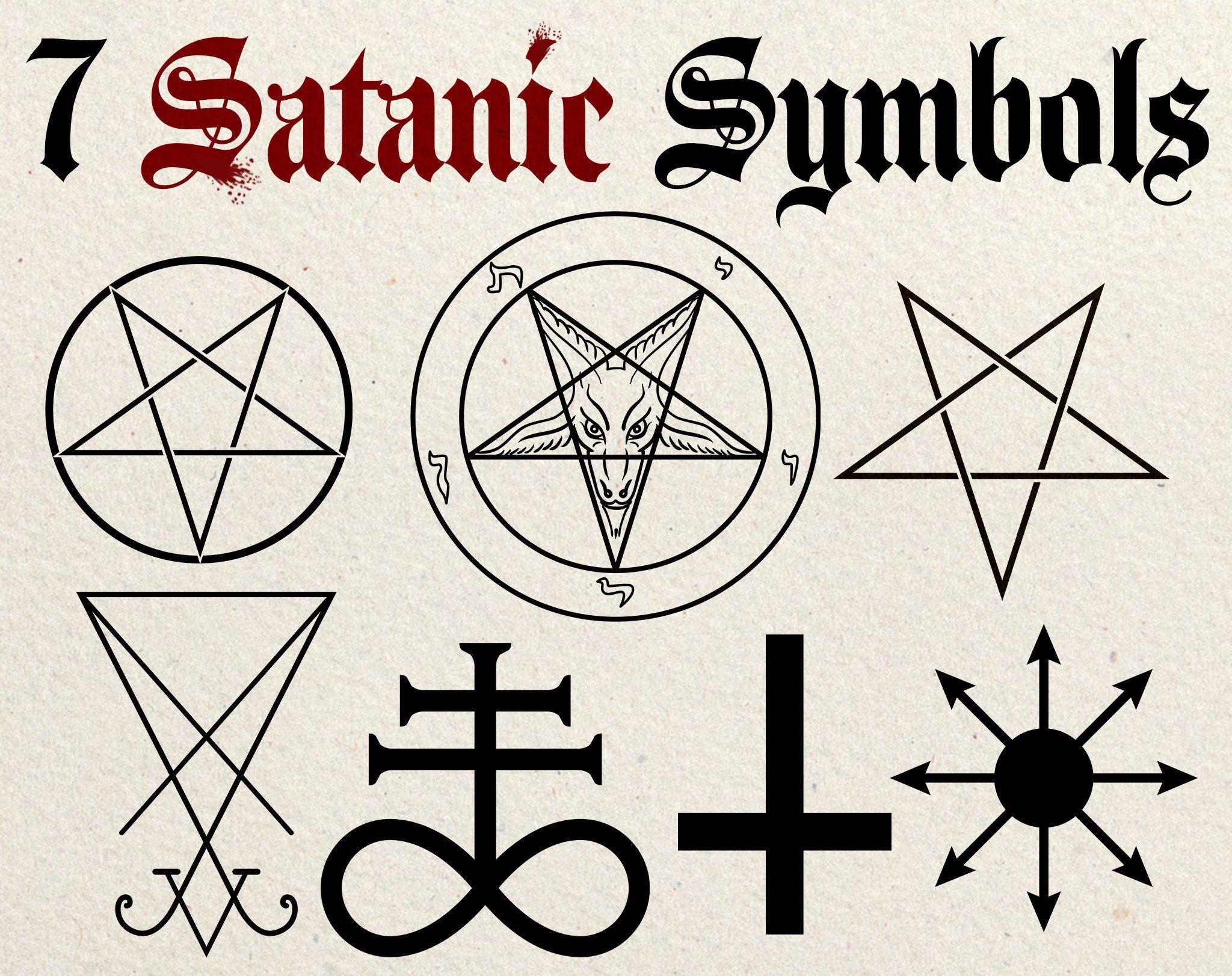 Pentacle vector clipart graphic download Satanic Symbols Clip Art Vector | Crafts in 2019 | Satanic art ... graphic download