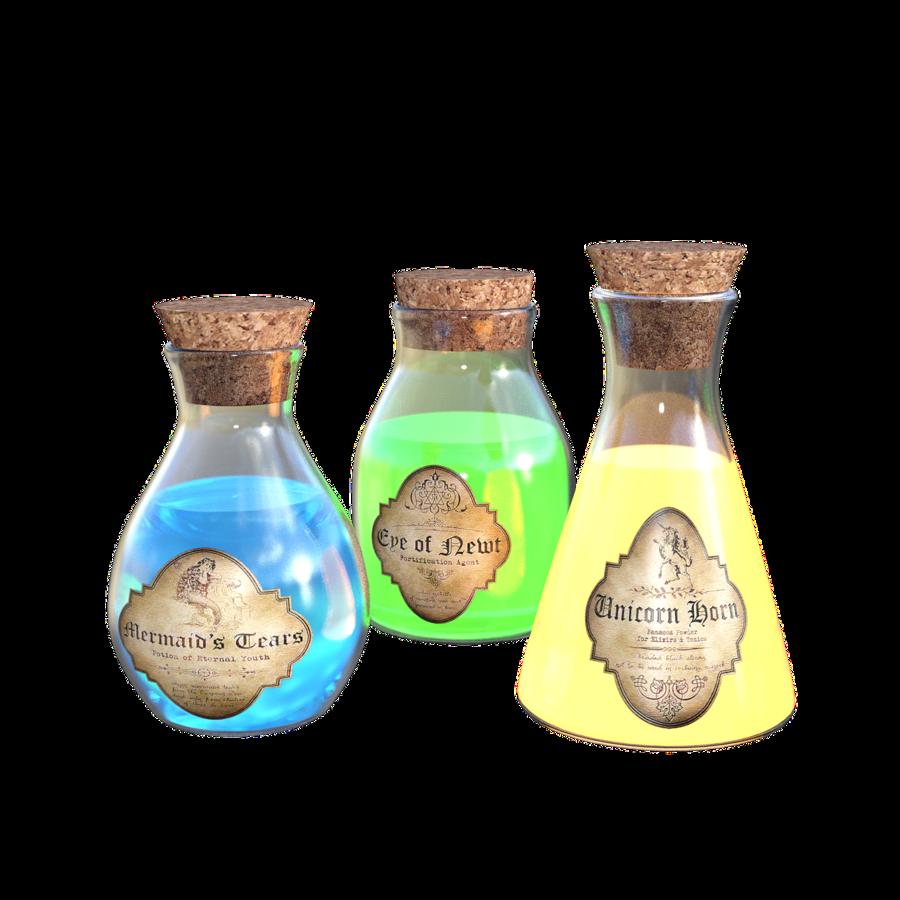 Alchemy bottle clipart image Bottle clipart Potion Bottle Alchemy clipart - Bottle, Product ... image