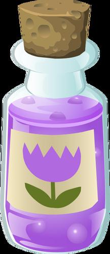 Alchemy bottle clipart graphic free library Alchemy purple bottle | Public domain vectors graphic free library