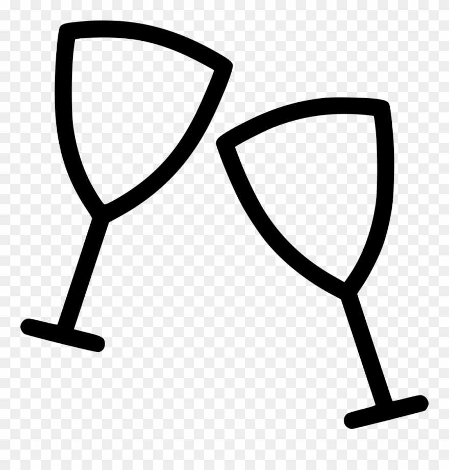 Alcohol background clipart svg library Wine Drink Party Alcohol New Year Comments - Champagne Icon ... svg library
