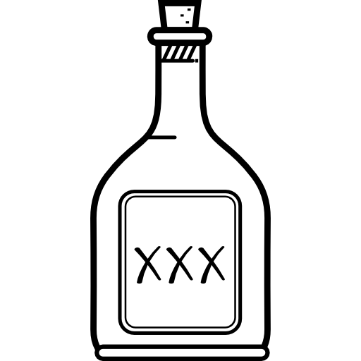 Alcohol bottle clipart black and white image freeuse library Alcohol Picture Library Clipart Alcoholic Beverage Free For On Rpelm ... image freeuse library