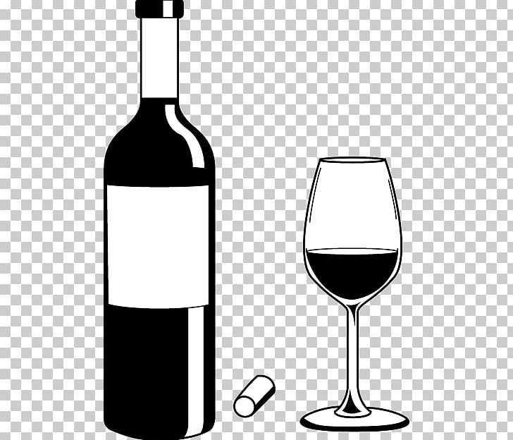 Alcohol bottle clipart black and white image library download White Wine Distilled Beverage Bottle PNG, Clipart, Alcohol Bottle ... image library download