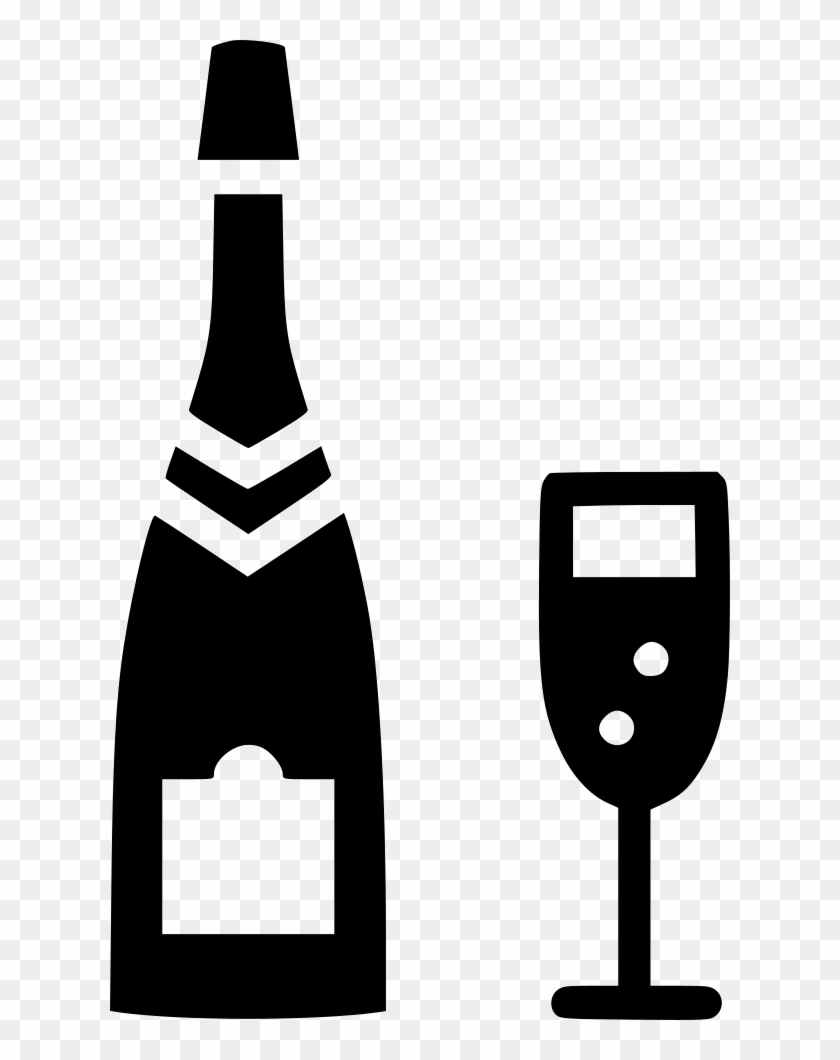 Black and white alcohol clipart banner black and white stock Png Black And White Glass Alcohol Bottle Celebrate - Black And White ... banner black and white stock
