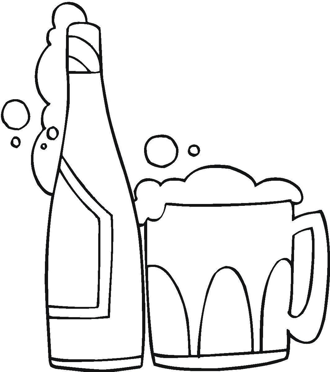 Alcohol clipart black clip art library download Alcohol clipart black and white 2 » Clipart Station clip art library download