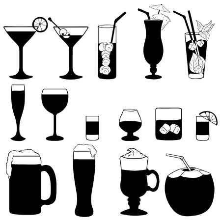 Alcohol clipart black clip royalty free Alcohol Clipart Black And White (95+ images in Collection) Page 1 clip royalty free
