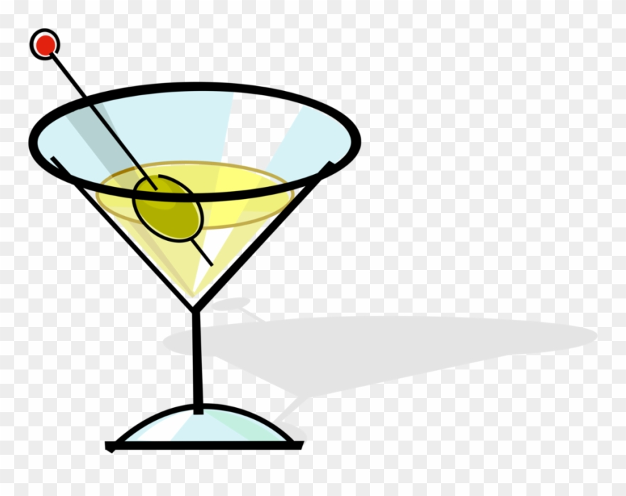Alcohol clipart illustration graphic royalty free library Martini Image Illustration Of Alcohol Beverage Clipart (#2409621 ... graphic royalty free library