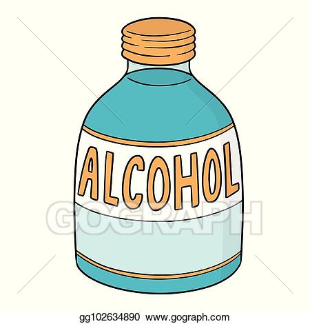 Alcohol clipart vector svg freeuse download EPS Illustration - Vector of medical alcohol. Vector Clipart ... svg freeuse download