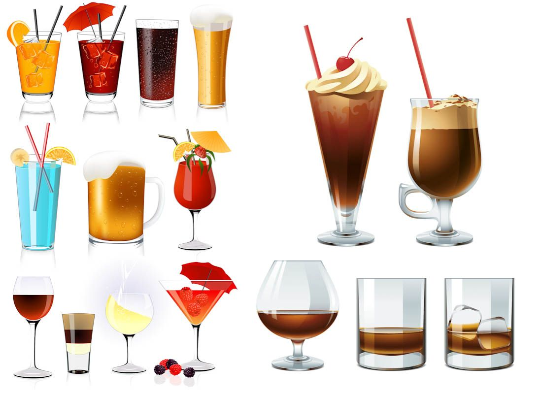 Alcohol drink clipart graphic royalty free library Brooklyn, we go hard. | Evenings & Libations | Cocktails clipart ... graphic royalty free library