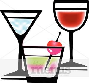 Alcohol drink clipart image transparent Alcoholic drink clipart » Clipart Station image transparent