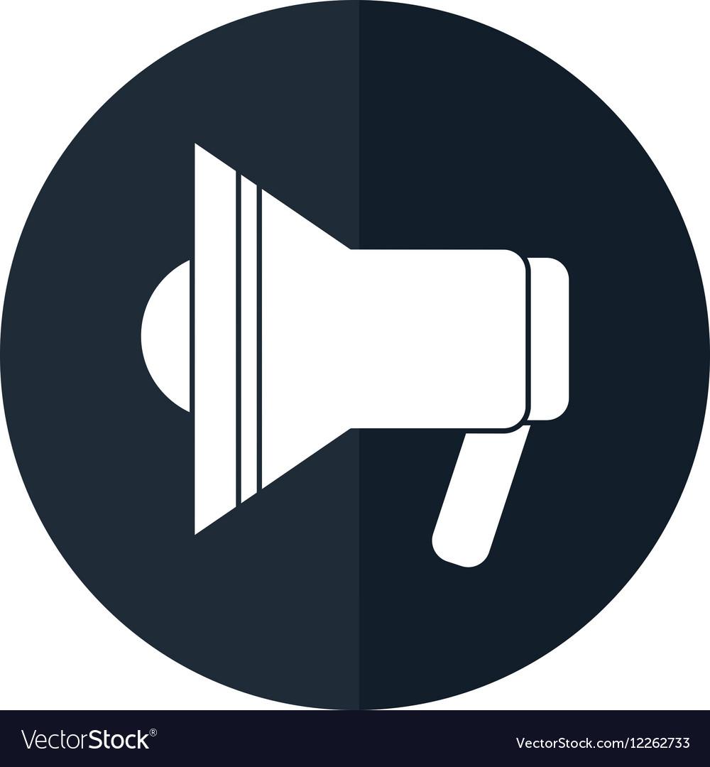 Alert megaphone clipart clip art royalty free Megaphone speaker alert urgency shadow clip art royalty free