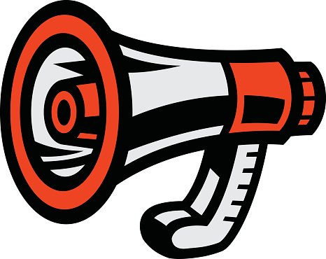 Alert megaphone clipart picture freeuse stock Megaphone Loudspeaker Bullhorn Announcement Alert premium clipart ... picture freeuse stock