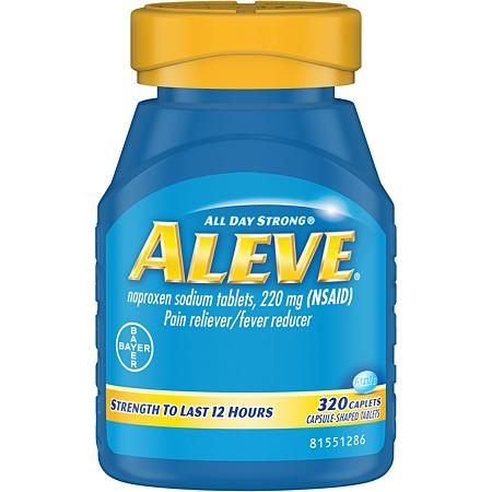 Aleve clipart clipart black and white stock Aleve Naproxen Sodium Tablets (320 ct.) - Sam\'s Club clipart black and white stock
