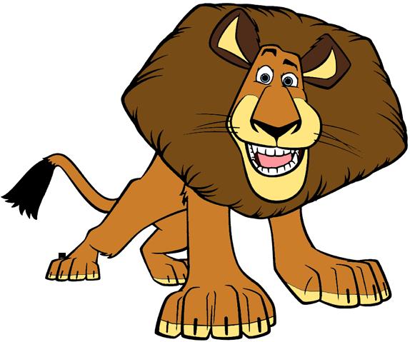 Madagascar characters clipart image free stock Madagascar The Movie Clip Art | Cartoon Clip Art image free stock