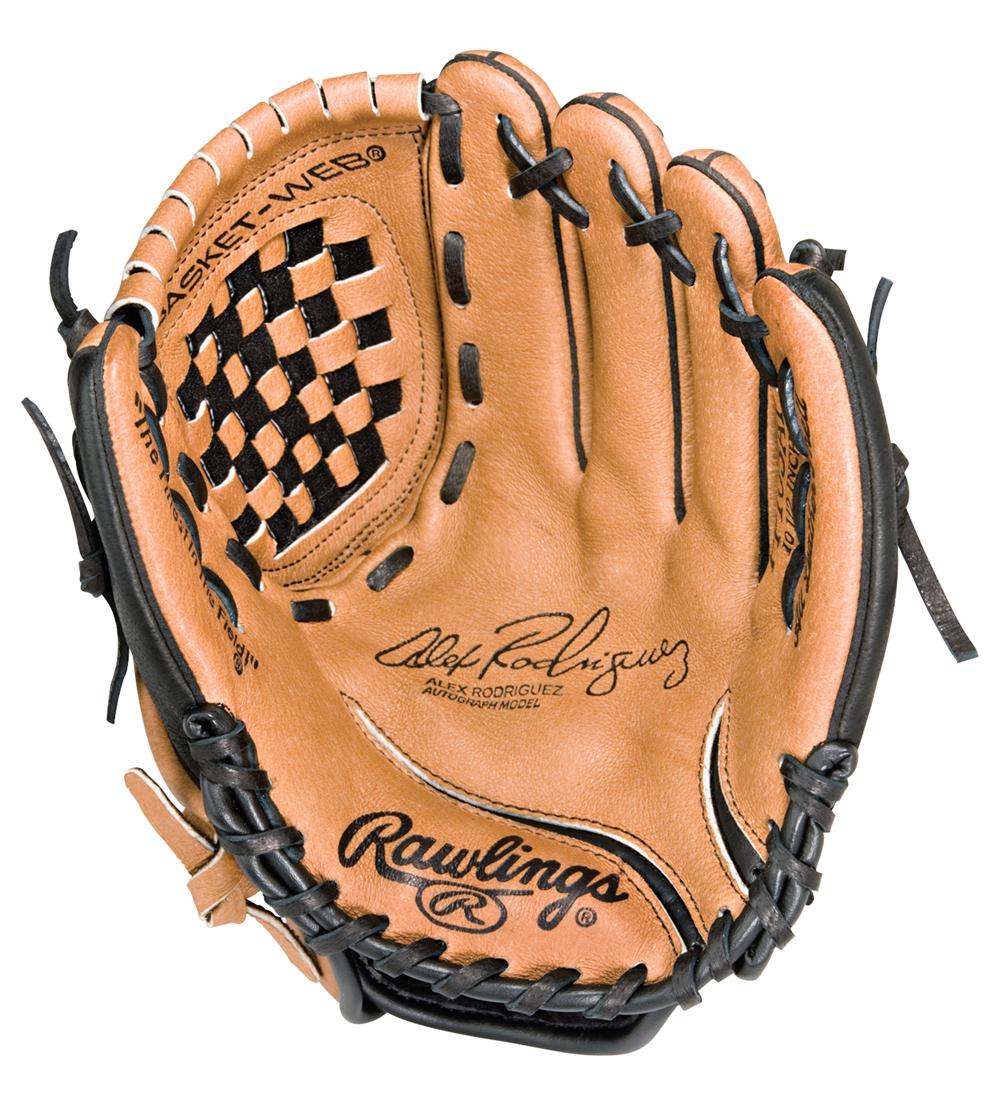 Alex rodriguez clipart graphic transparent stock Alex Rodriguez AR 10.5 inch Youth Baseball Glove - Clip Art Library graphic transparent stock